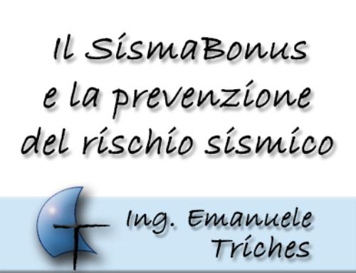 Prevenzione sismica, ora possibile con il SismaBonus