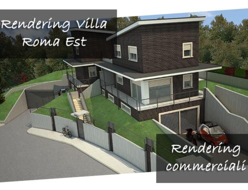 Rendering Villa Roma Est