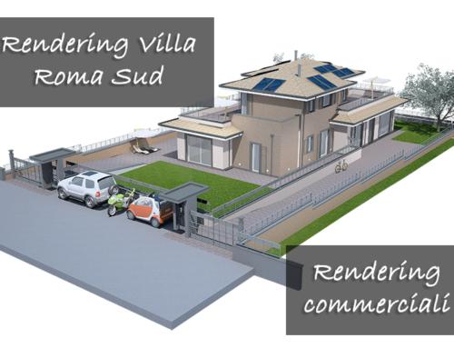 Rendering Villa Roma Sud